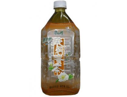 etiqueta de la botella de té listo